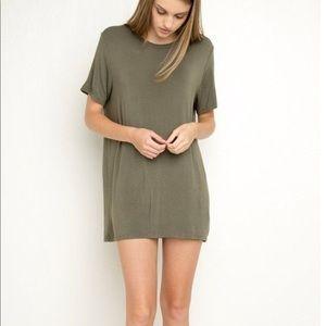 Brandy Melville crewneck tshirt dress
